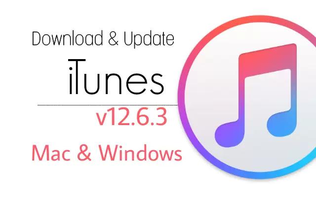 Download iTunes 12.6.3