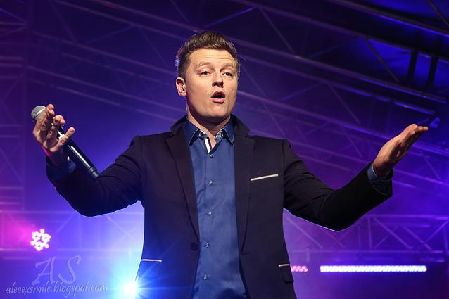 Relacja z koncertu - Rafał Brzozowski w Wałbrzychu 11 stycznia 2015