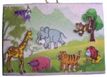 Mainan Edukasi Playboard Jungle