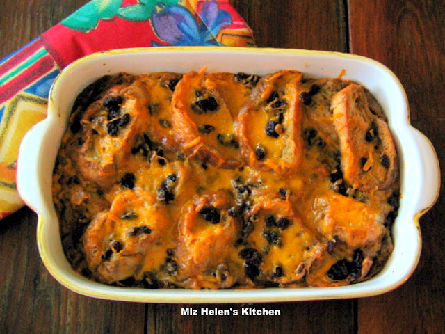 Mexican Bread Pudding at Miz Helen's Country Cottage