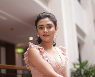 Kollywood Actress Megha Chowdhury Picture At Varma Movie Teaser Launch (3)