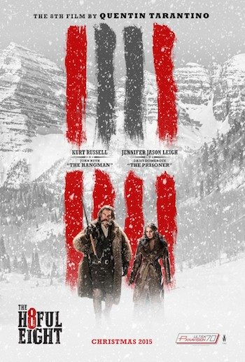 The Hateful Eight 2015 English 480p BRRip 450mb ESubs