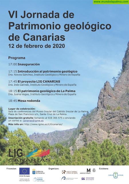 El Cabildo Insular acoge las 'VI Jornada de Patrimonio Geológico de Canarias'