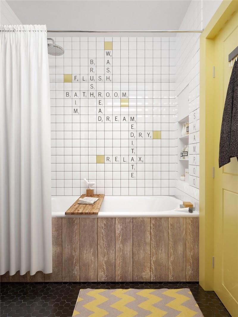 Mieszkanie w skandynawskim stylu z pastelowymi dodatkami, wystrój wnętrz, wnętrza, urządzanie domu, dekoracje wnętrz, aranżacja wnętrz, inspiracje wnętrz,interior design , dom i wnętrze, aranżacja mieszkania, modne wnętrza, styl skandynawski, scandinavian style, pastelowe kolory, małe wnętrza, kawalerka, łazienka