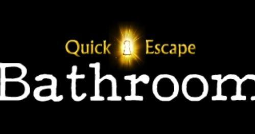 Solved Quick Escape Bathroom Walkthrough