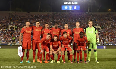 Gallery foto Liverpool FC pada pertandingan pra ekspresi dominan bertakjub International Champions C Berita Bola Photo Chelsea FC 1 - 0 Liverpool FC International Champions Cup