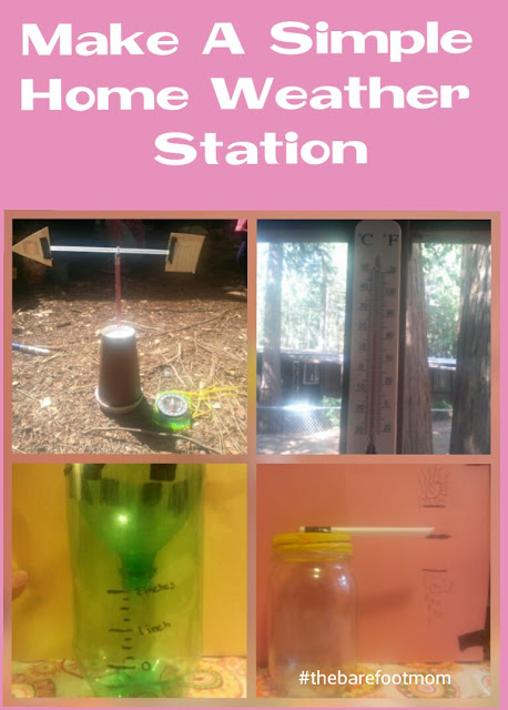 DIY Home Weather Station from The Barefoot Mom