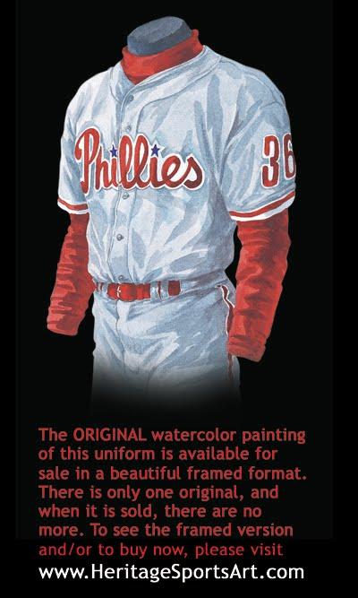 Philadelphia Phillies Uniform and Team History  c2bb16c1253