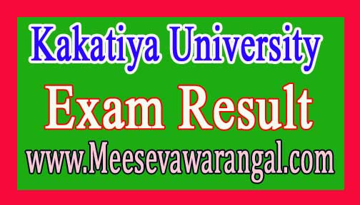Kakatiya University B.Pharm 2-1 Sem Results