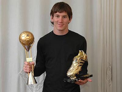 Inicios de Lio Messi