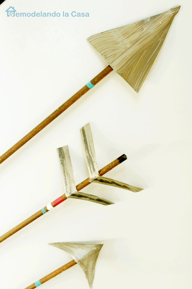 Make arrows to decorate your home for Valentines
