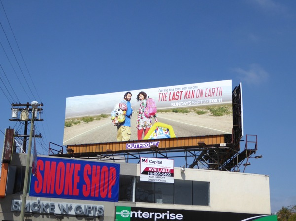Last Man on Earth season 2 billboard