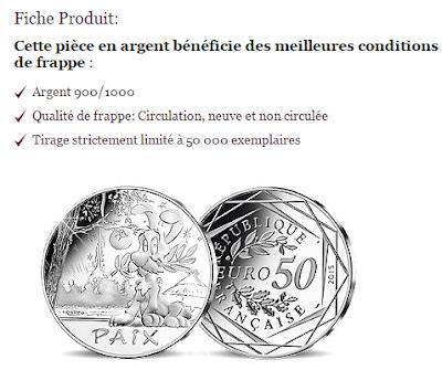 collection pièce Astérix Monnaie de Paris