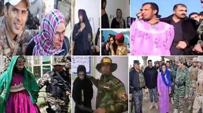 Боевики ИГИЛ бегут с поля боя в женской одежде и бюстгальтерах