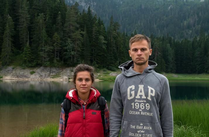 Черное озеро, парк Дурмитор в Черногории
