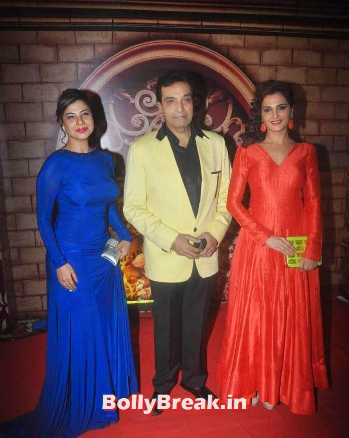 Sambhavna Set, Dheeraj Kumar, Monica Bedi, Zee Rishtey Awards 2014 Photo Gallery