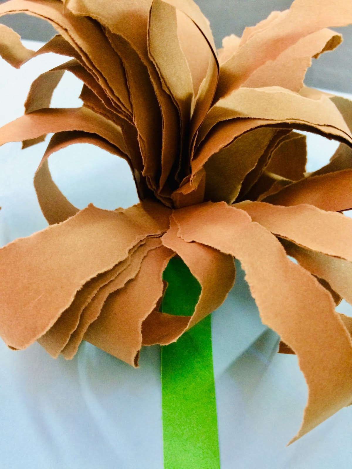 """""""Crizantema""""- ruperea hârtiei"""