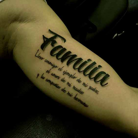 Tattoo Familia De 3