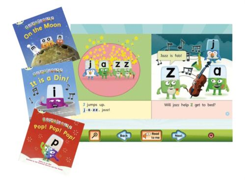 alphablocks readers, books