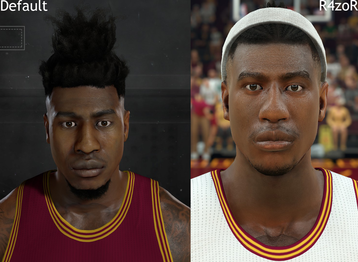 DNA Of Basketball | DNAOBB: NBA 2K17 Iman Shumpert's New Look Cyberface by R4zoR