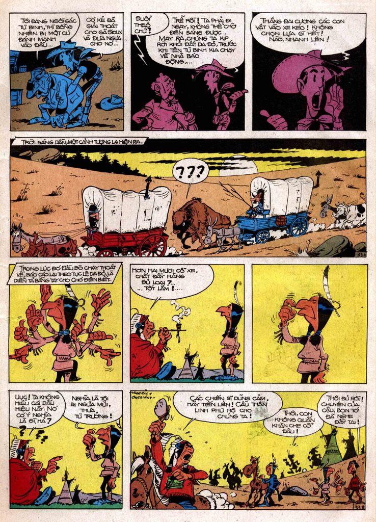 Lucky Luke tap 3 - doan lu hanh trang 32