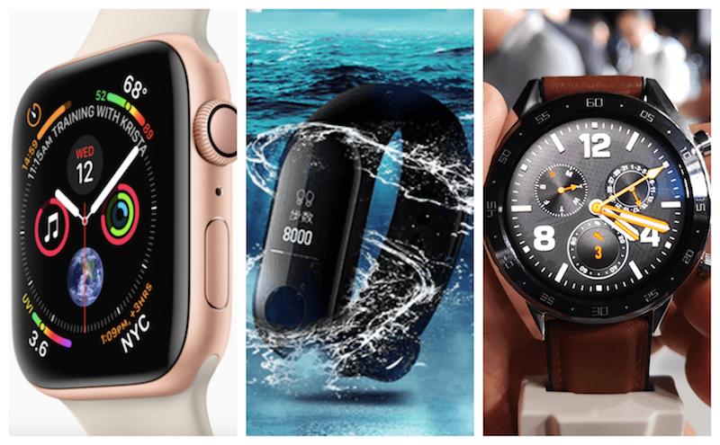 Wearable market spearheaded by Apple, Xiaomi, and Huawei in 2018