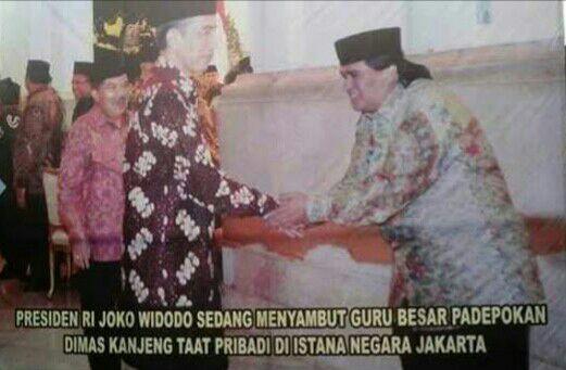 Ribut Foto Asma Dewi-Prabowo Giliran Ada Foto Jokowi & Dimas Kanjeng Diem