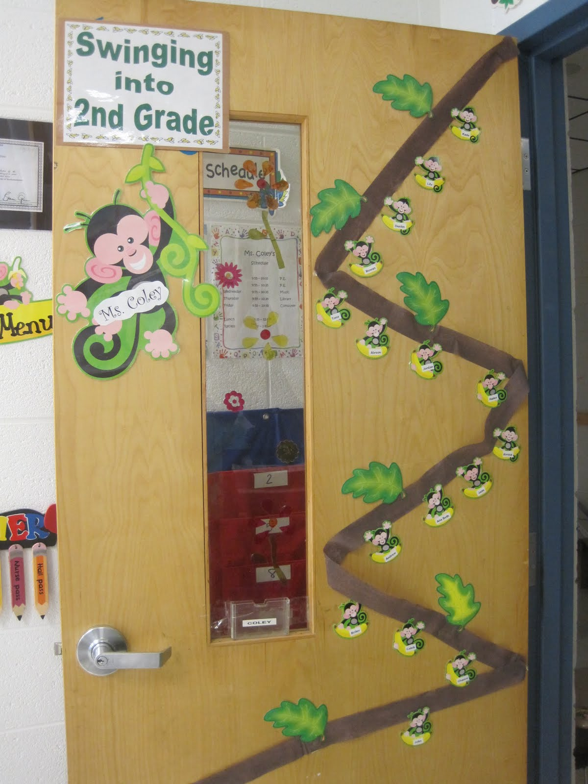 Savvy Second Graders Monkey Classroom Theme