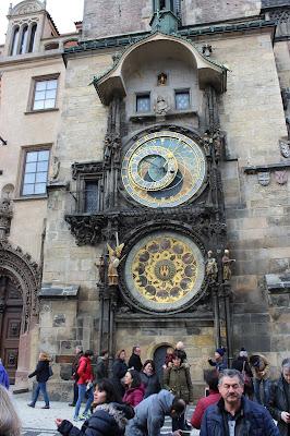 zegar astronomiczny praga