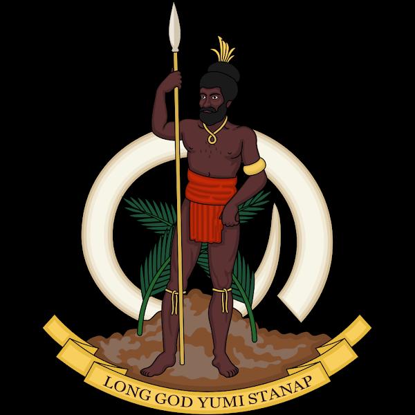 Logo Gambar Lambang Simbol Negara Vanuatu PNG JPG ukuran 600 px