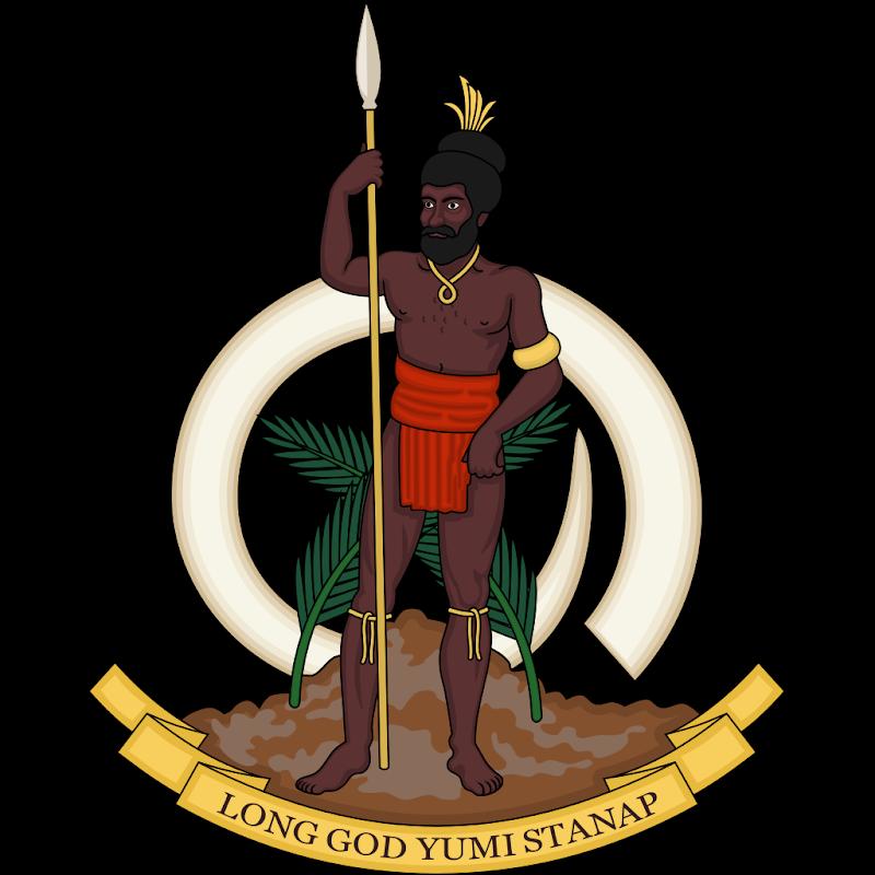 Logo Gambar Lambang Simbol Negara Vanuatu PNG JPG ukuran 800 px