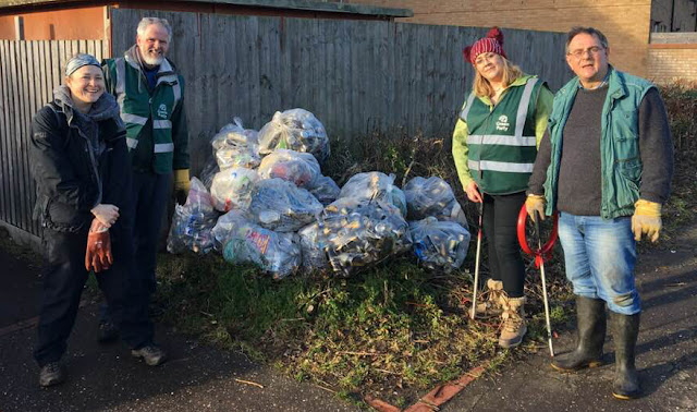 Litter pick in Kilham