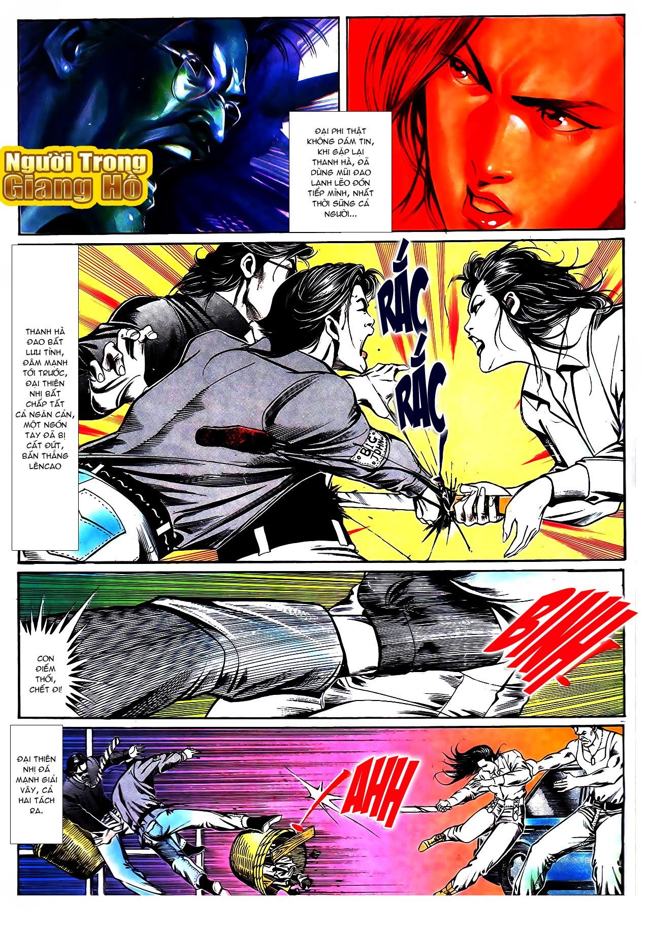Người Trong Giang Hồ chapter 108: phong vũ cố nhân lai trang 6