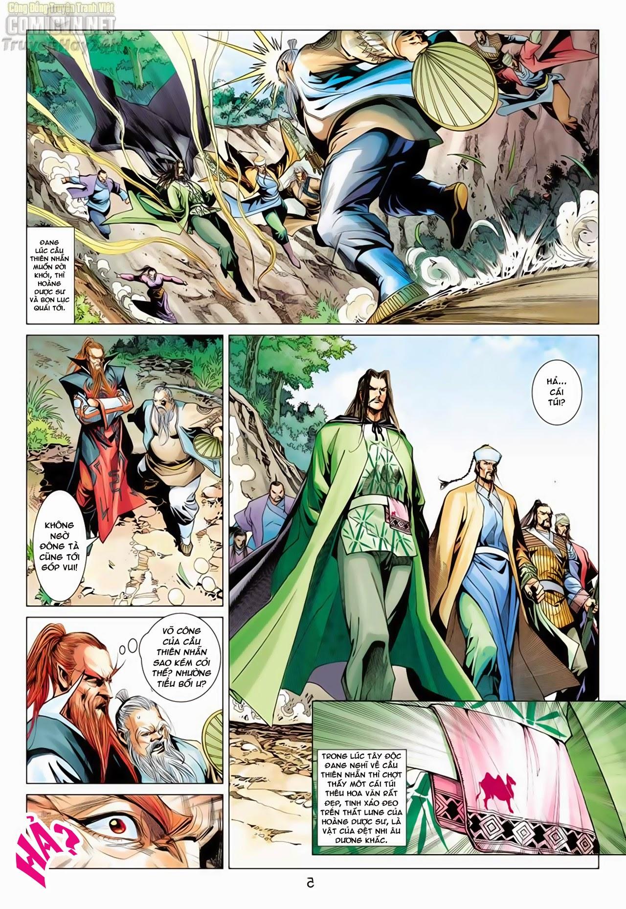 Anh Hùng Xạ Điêu anh hùng xạ đêu chap 65: cái bang tân chủ trang 6