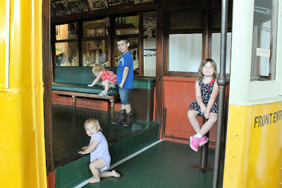 Climb Aboard History at The Durham Museum by exploring their passenger trains on display