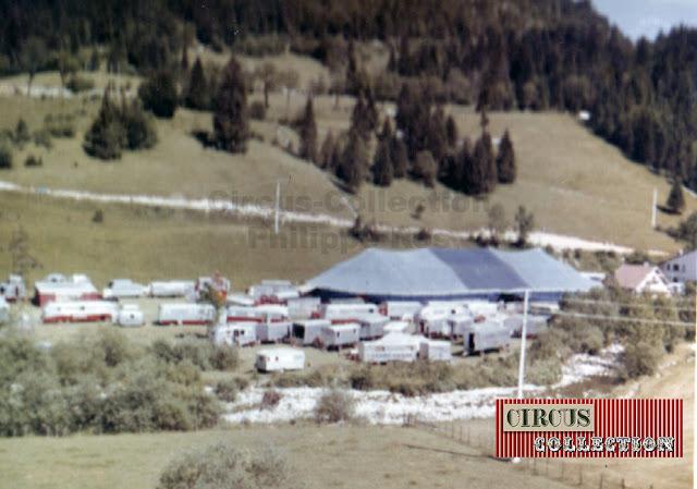 vue générale du Grand Cirque de France 1965,