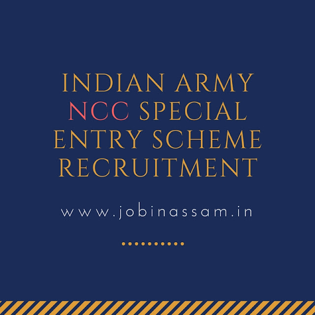 Indian Army NCC Special Entry Scheme Recruitment
