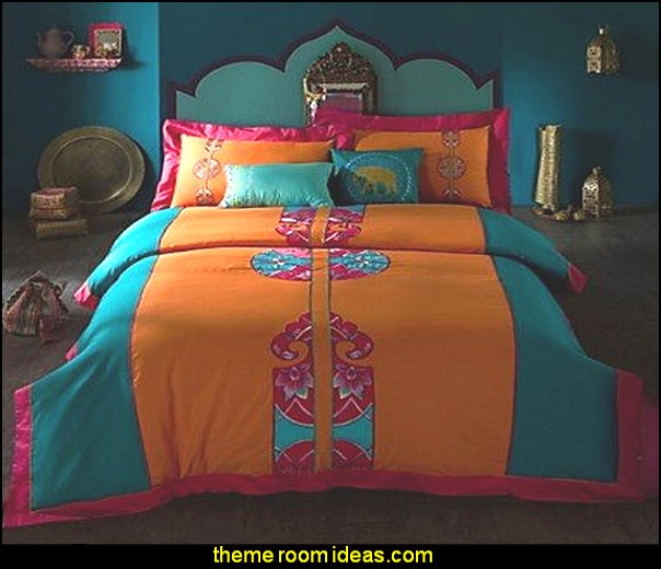 exotic Bohemia embroid Bedding Sets