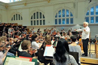Royal College of Music Junior Department and Vladimir Ashkenazy (c) Chris Christodoulou