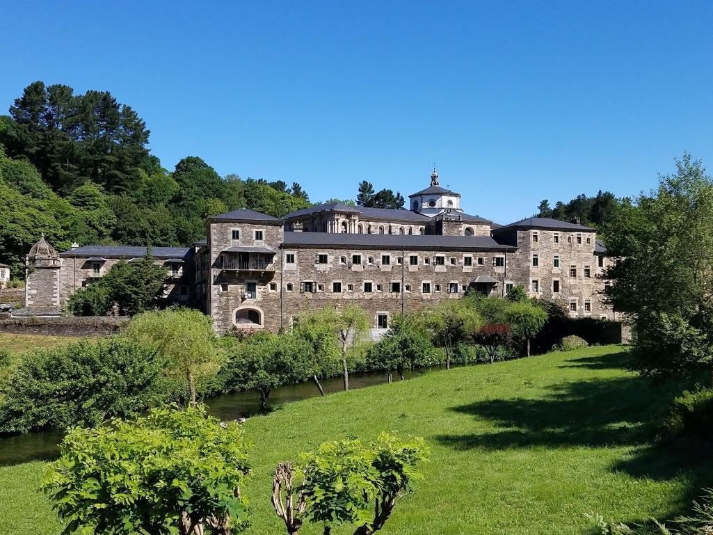 Monastery of San Xulián (Saint Julian) Benedictine Monastery. Photo: © Lisa Foradori.