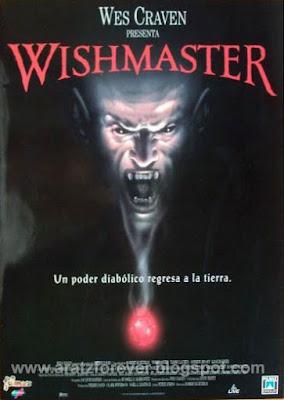 wishmaster, wes craven, Robert Kurtzman, robert englund, Andrew Divoff, djinn