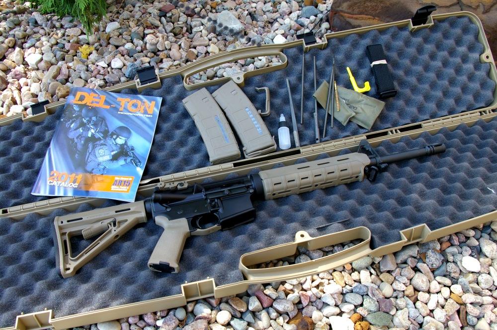 Del-Ton DTI Mid-length 5 56 AR15/M4 Carbine Rifle Review