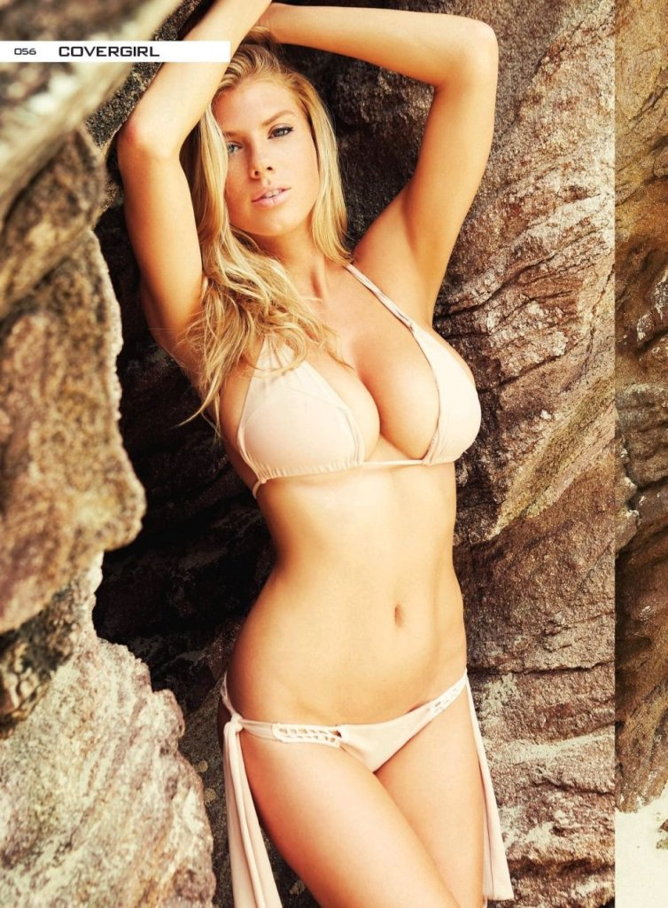 Charlotte McKinney naked photos in Summum Magazine April 2017 cover issue