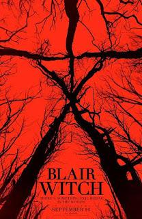 poster de la secuela de EL Proyecto de la bruja de Blair