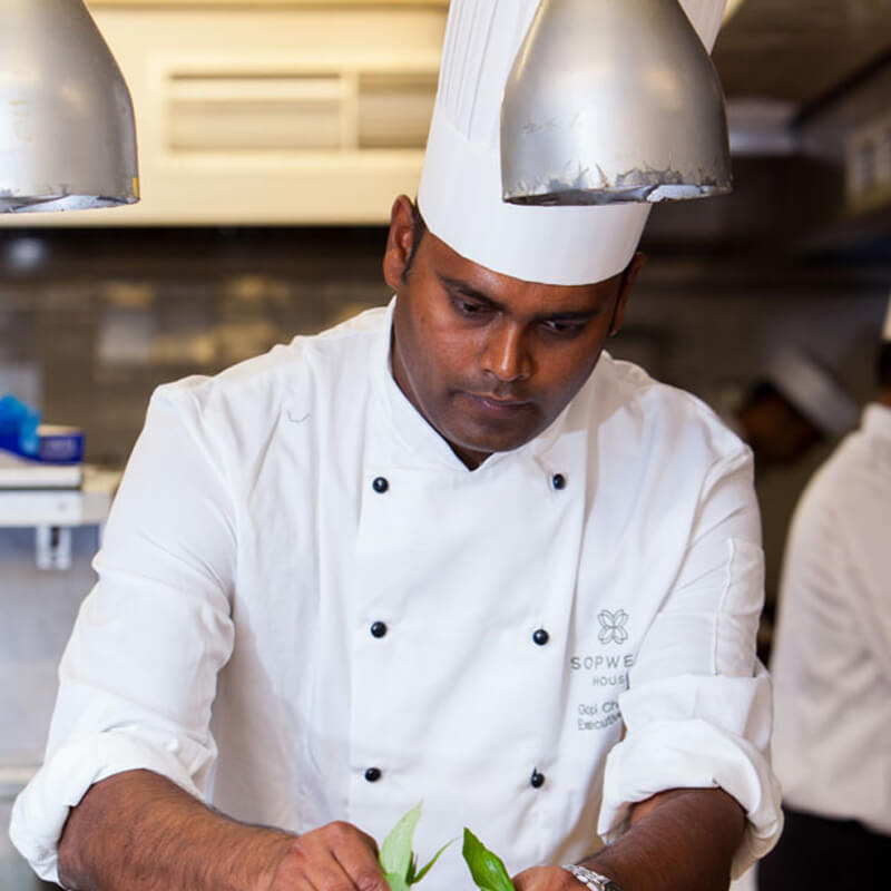 Sopwell House Executive Chef Gopi Chandran