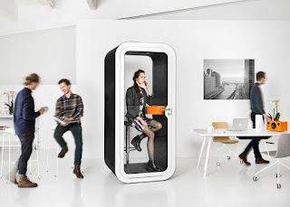 Зачем в офисе нужна звуконепроницаемая кабина?