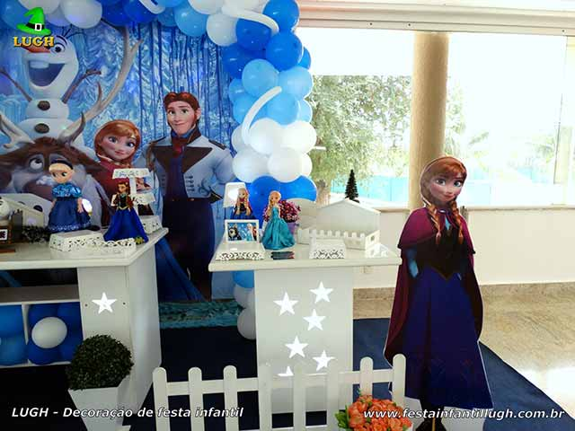 Decoração festa de aniversário Frozen - Festa temática