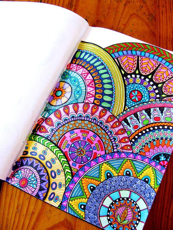 Yetişkinler Için Boyama Kitabı Mandala Nedir Sosyalhobi Suzan