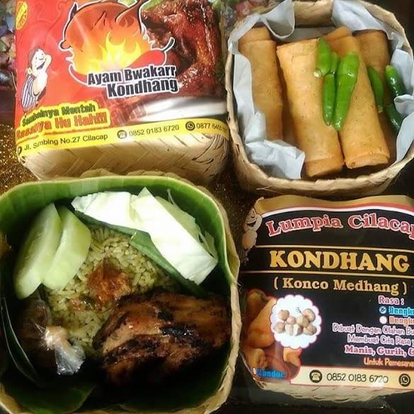 """Kuliner Cilacap """"Lumpia dan Ayam Bwakarr Kondhang"""""""