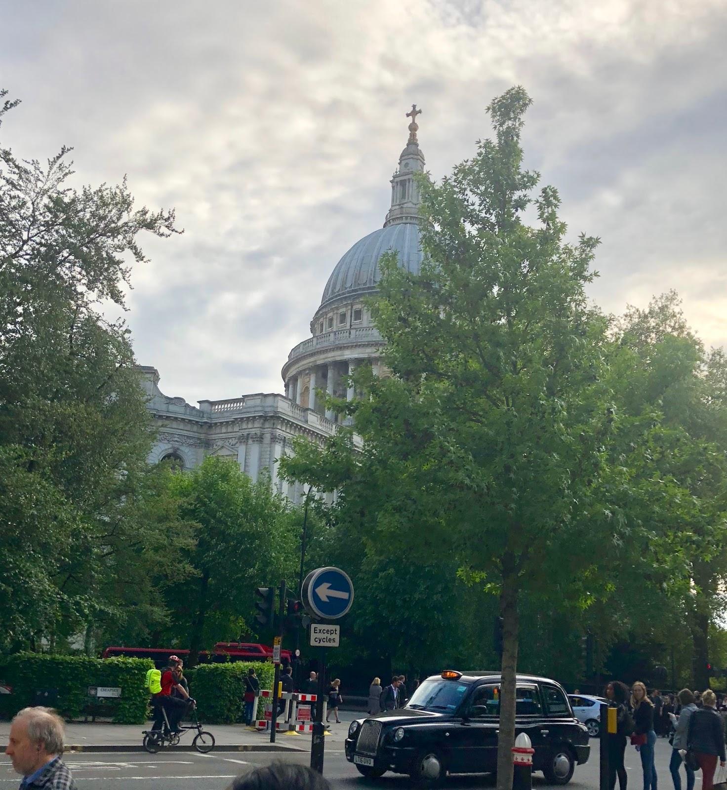 St Pauls through trees